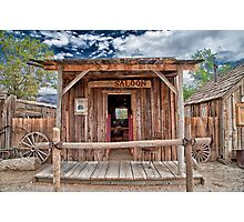 Silver Canyon Saloon Photographic Print