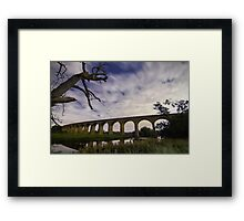 Arthington Viaduct over the River Wharfe Framed Print