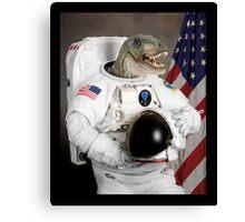 Astronautus Rex Canvas Print