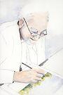 Gentleman Joe Painting by Val Spayne