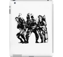 Ghostbusters Film Poster Silhouette iPad Case/Skin