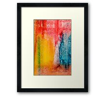 Rain or Shine Framed Print