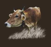 Milk cow in the field T-Shirt