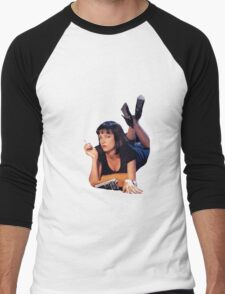 Pulp Fiction Mia Wallace Men's Baseball ¾ T-Shirt