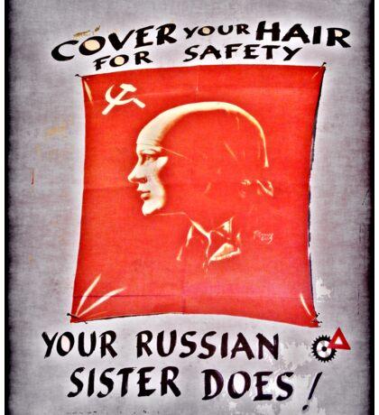 russian sister Sticker