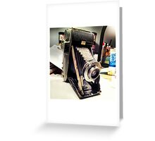 I'm vintage, baby Greeting Card