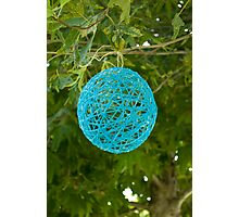 Yarn Ball Photographic Print