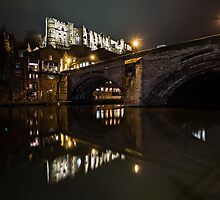 Durham Castle UK by David Lewins