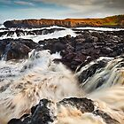 Dunseverick High Tide by Derek Smyth