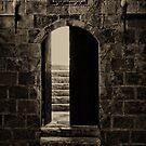 Qalawun Doorway Cairo by Nigel Fletcher-Jones