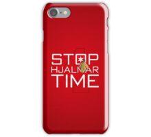 Stop, Hjalmar Time iPhone Case/Skin