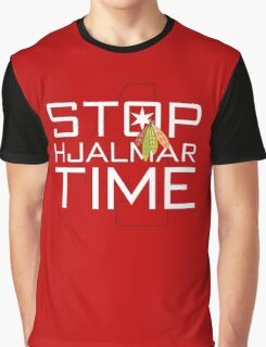 Stop, Hjalmar Time Graphic T-Shirt
