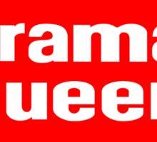 Drama Queen - Dairy Queen parody Sticker