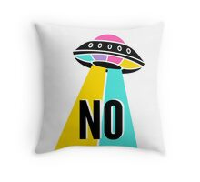 A Message From Space Throw Pillow