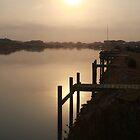 Sun Rising through Grampians Smoke by Stuart Daddow Photography