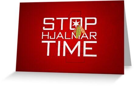 Stop, Hjalmar Time by fohkat