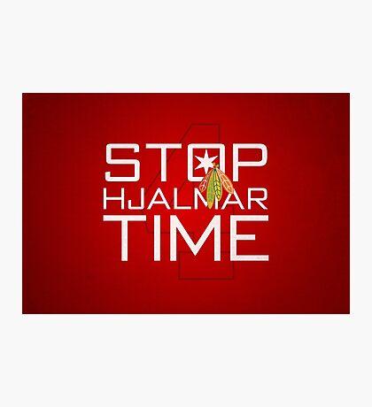Stop, Hjalmar Time Photographic Print