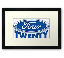 Four Twenty - Ford parody Framed Print