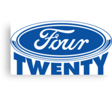 Four Twenty - Ford parody Canvas Print