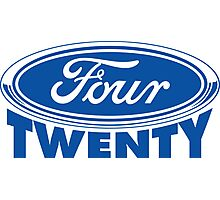 Four Twenty - Ford parody Photographic Print