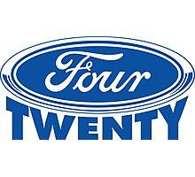 Four Twenty - Ford parody Photographic Print