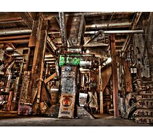 Lets Grind It Up Photographic Print