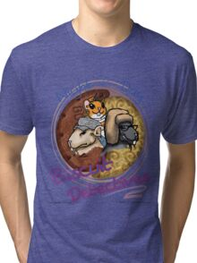 Night & Day, Biscuit Detectives! Tri-blend T-Shirt