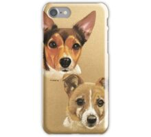 Winnie & Belle the adorable JRTs iPhone Case/Skin