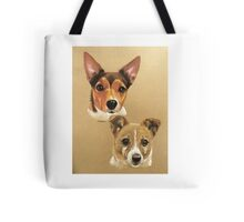 Winnie & Belle the adorable JRTs Tote Bag