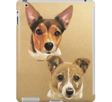 Winnie & Belle the adorable JRTs iPad Case/Skin