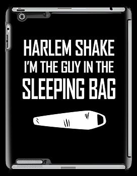 Harlem Shake Sleeping Bag by jezkemp
