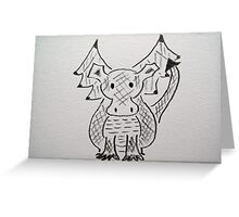 Little Dragon Greeting Card