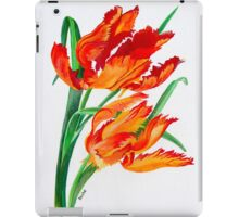 Parrot Tulips iPad Case/Skin