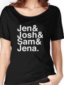 Jennifer & Josh & Sam & Jena. (inverse) Women's Relaxed Fit T-Shirt