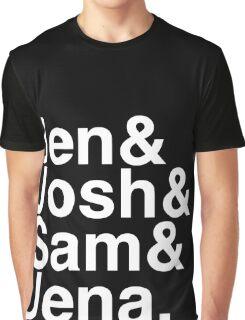 Jennifer & Josh & Sam & Jena. (inverse) Graphic T-Shirt