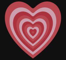 Powerpuff Girls Heart Baby Tee