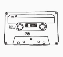 Retro Cassette Tape by adrienne75