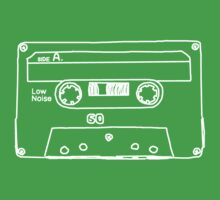 Retro Cassette Tape by adrienne75