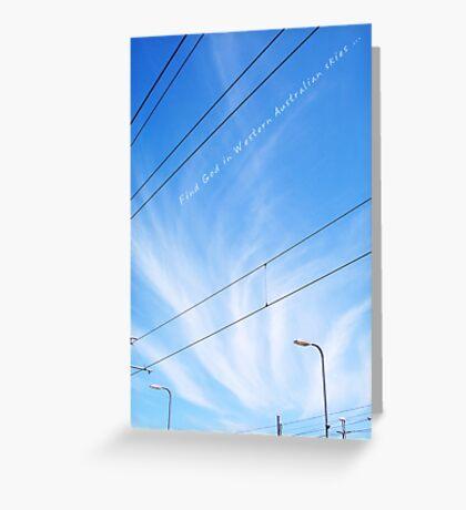 God's Sky - Claremont Greeting Card