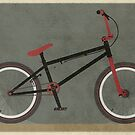 BMX Bike by Andy Scullion