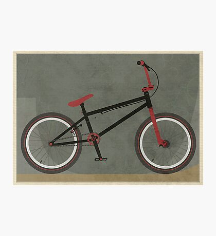 BMX Bike Photographic Print