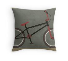 BMX Bike Throw Pillow