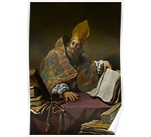 St. Ambrose, c.1623-25  Poster