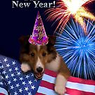 New Years Sheltie by jkartlife