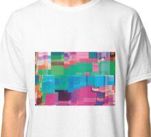 datamoshing 5 Classic T-Shirt