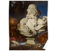 Allegorical Still Life with Bernini's Bust of Francis I d'Este Poster