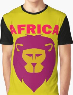 LION-AFRICA Graphic T-Shirt