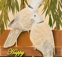 Mother's Day Doves by jkartlife
