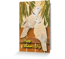 Mother's Day Doves Greeting Card