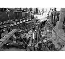 Broken Broadway Photographic Print